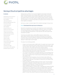 Genesys Cloud Advantages