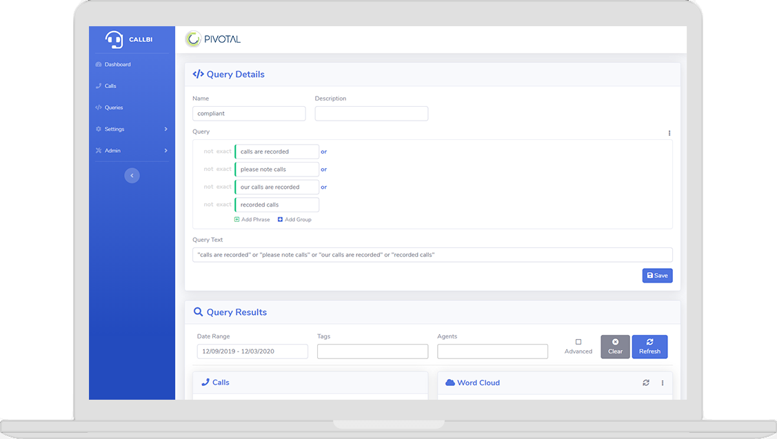 Build and customise multiple queries and reports