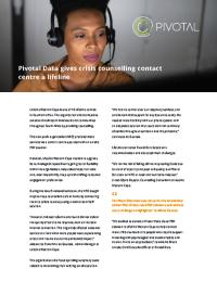 LifeLine Pivotal Voice Case Study