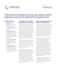 Genesys PureConnect Product Sheet