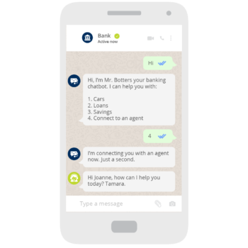 CHATBOTS AND AUTOMATED FLOWS